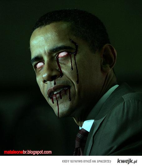 President Evil Obama Rise