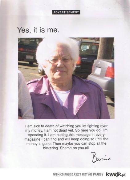 Pomysłowa babcia