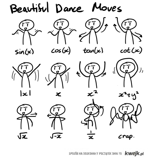 Beautiful dance moves
