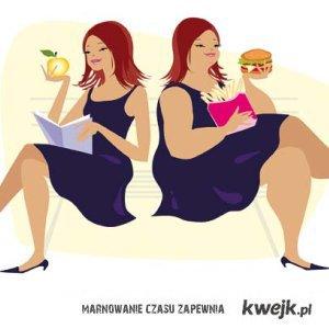 Kobieta - za chuda, za gruba