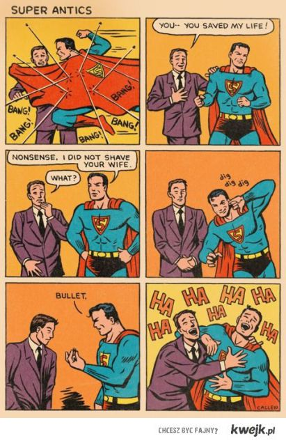 Superbohaterowie też się starzeją