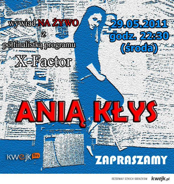Ania Kłys w KWEJK .FM