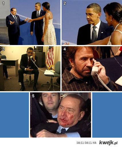 Obama i Berlusconi