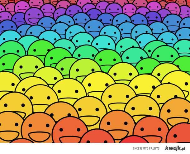Rainbow Smileys :D