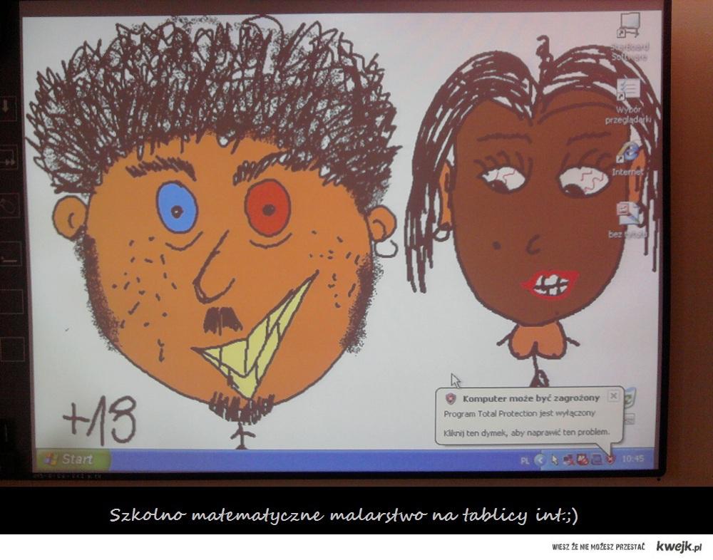 szkolny rasizm;)