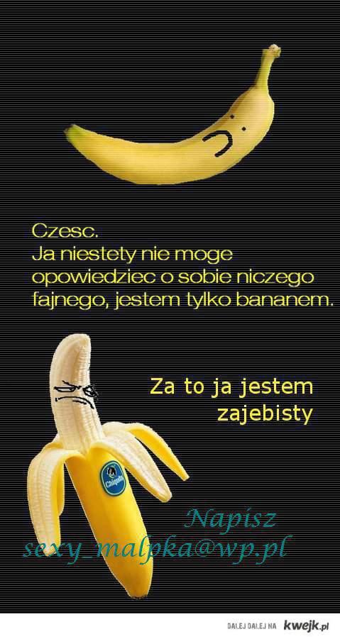 kocham banany!