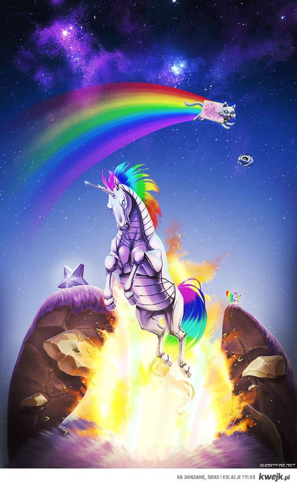 Rainbow C-combo!