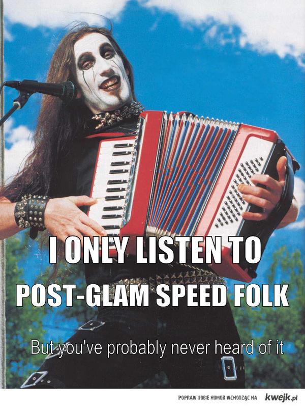I only listen