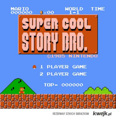 mario cool story bro