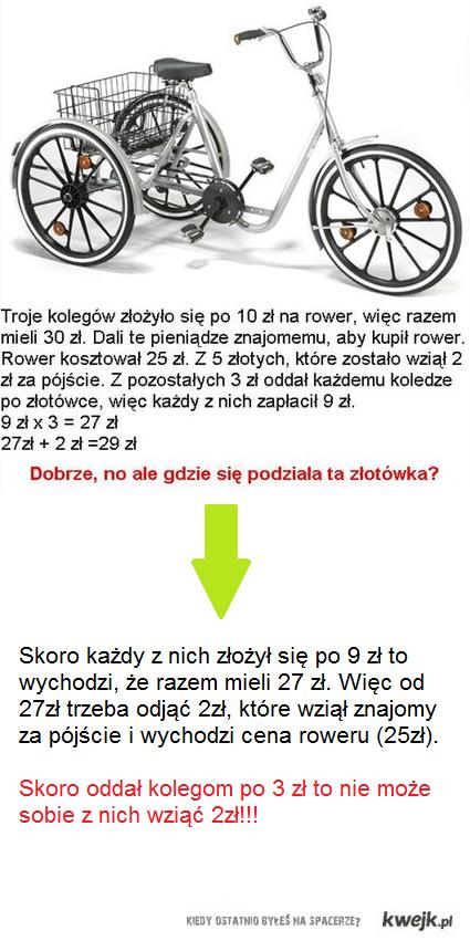 rower rozwiązanie