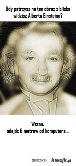 Albert Einstein??