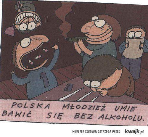 polska mlodzież potrafi bawic się bez alkoholu