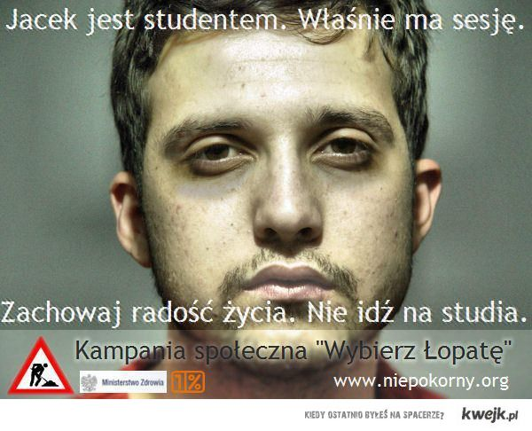Nie idź na studia
