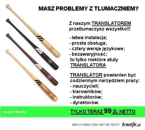 Masz problem z tłumaczeniem?