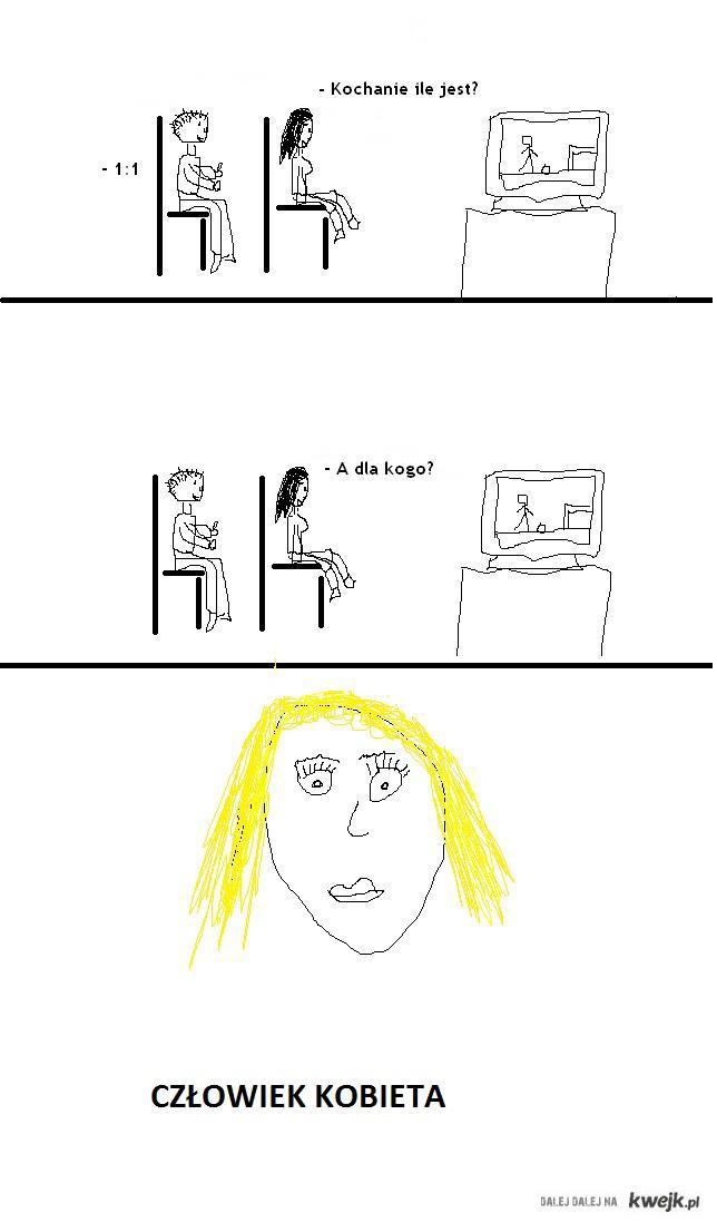 Człowiek kobieta 2