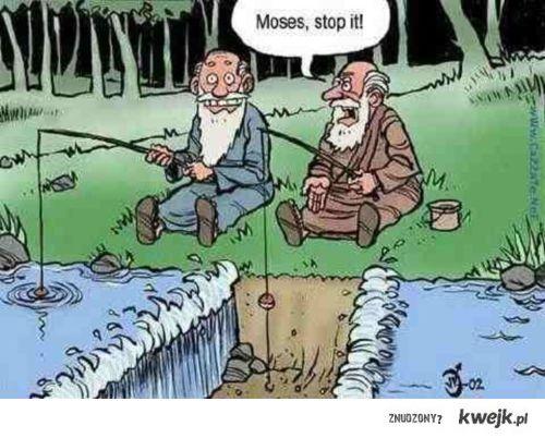 Mojzesz i jego zdolnosci wedkarskie
