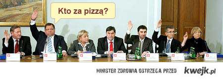 Komisja gastronomiczna - za pizzą