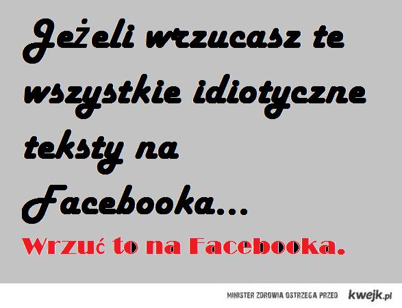 wrzuc na fejsbuka