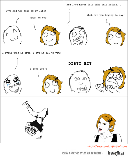dirty bit