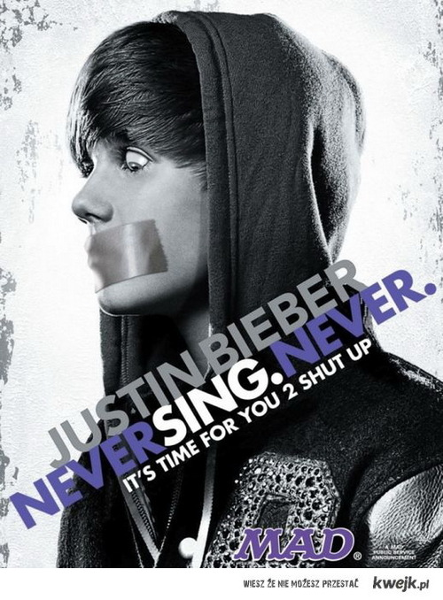 Never sing never