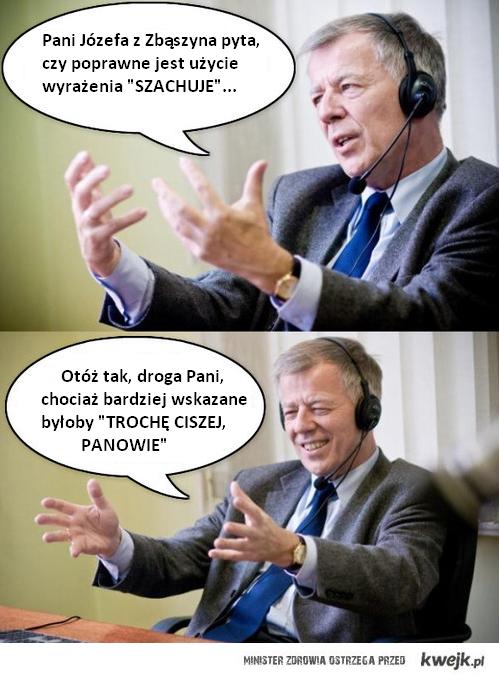 Prof. Miodek odpowiada