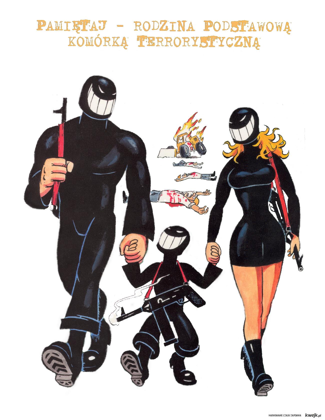Likwidator z rodziną