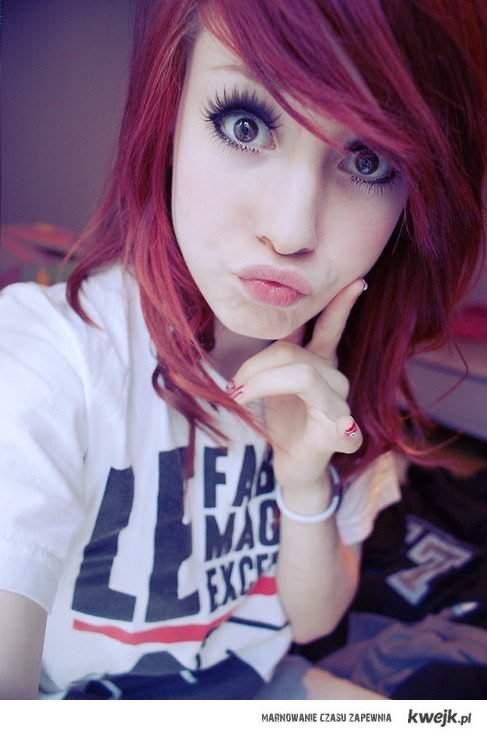 Magic redhead