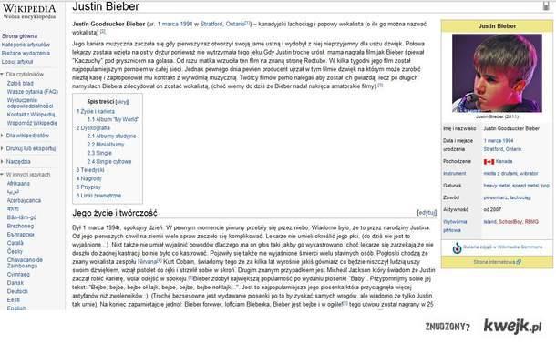 Prawdziwe oblicze Biebera