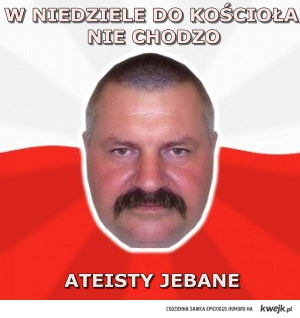 Pan Andrzej vs. ateiści