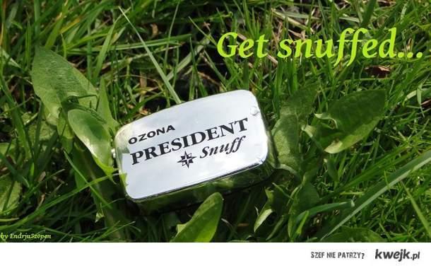 Get snuffed...
