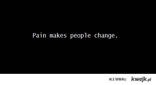 ból zmienia ludzi