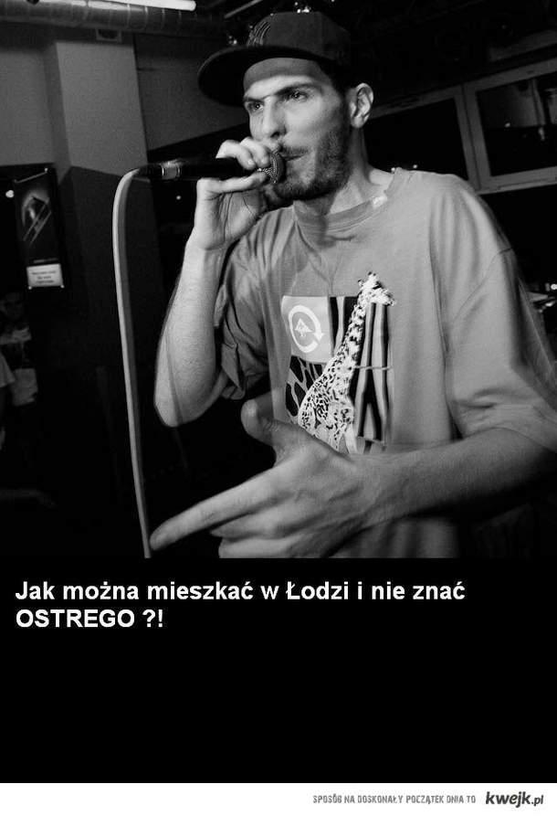 Łódź ostr