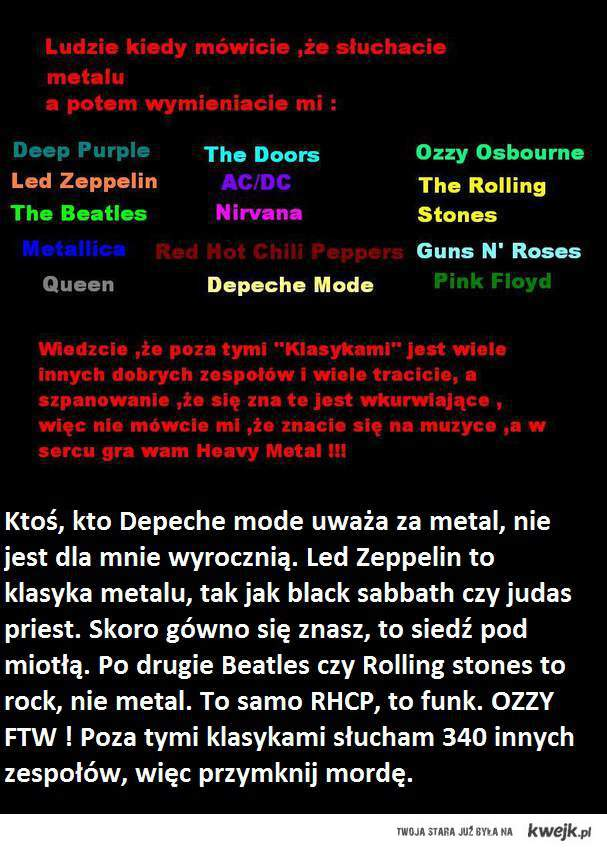 Heavy metal