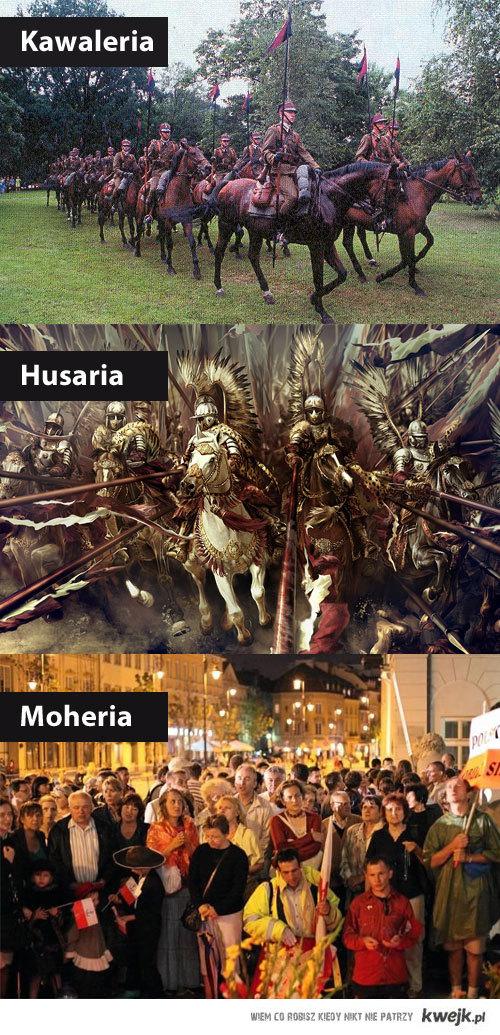 Kawaleria, Husaria i...
