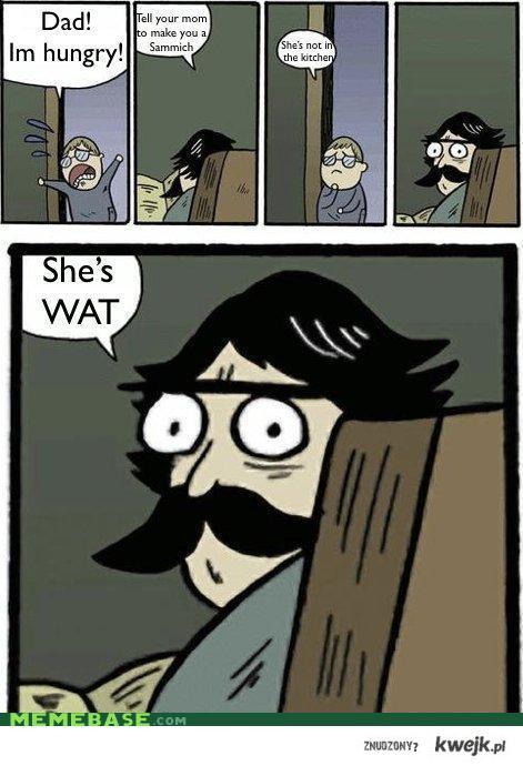 she's WAT?
