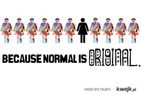 re- normal is boring