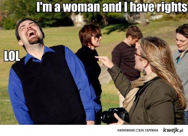 woman - lol