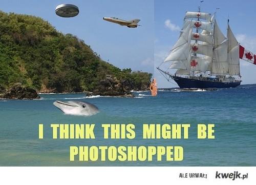 To chyba fotomontaż