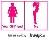 your girlfrien & me