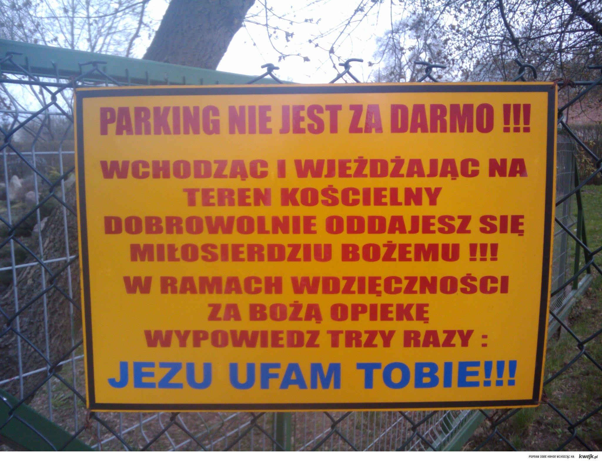 Parking przy Kosciele