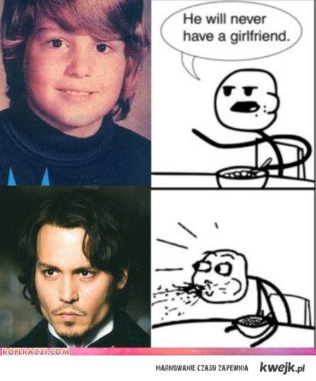 Depp will never have a girlfriend?