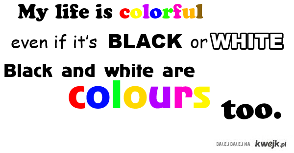 My Life Is Colorful
