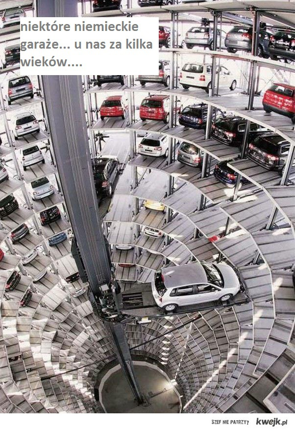 niemieckie garaże