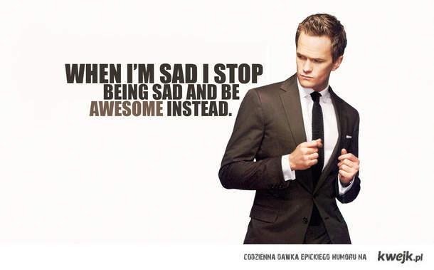 stop being sad!