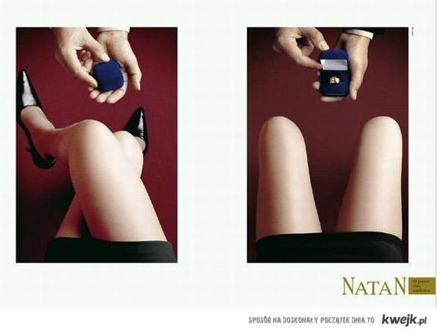 ciekawa reklama biżuterii