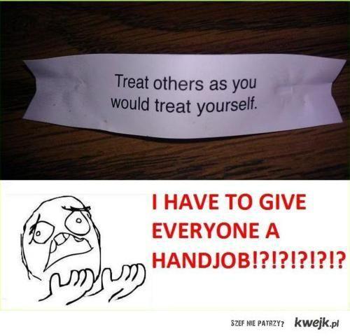 Handjob.