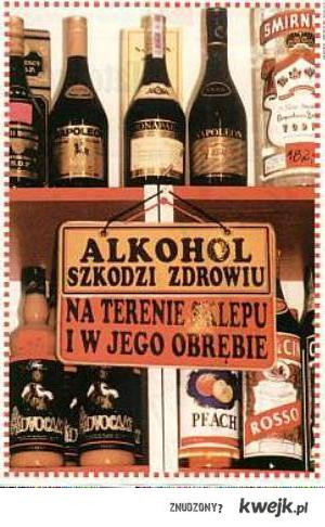 alkohol szkodzi