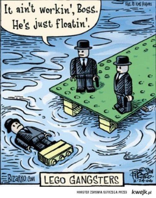 LEGO gangsta