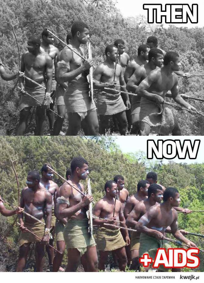 Afryka kiedyś i dziś