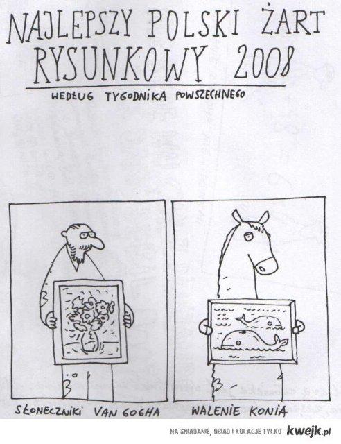 Najlepszy polski żart rysunkowy